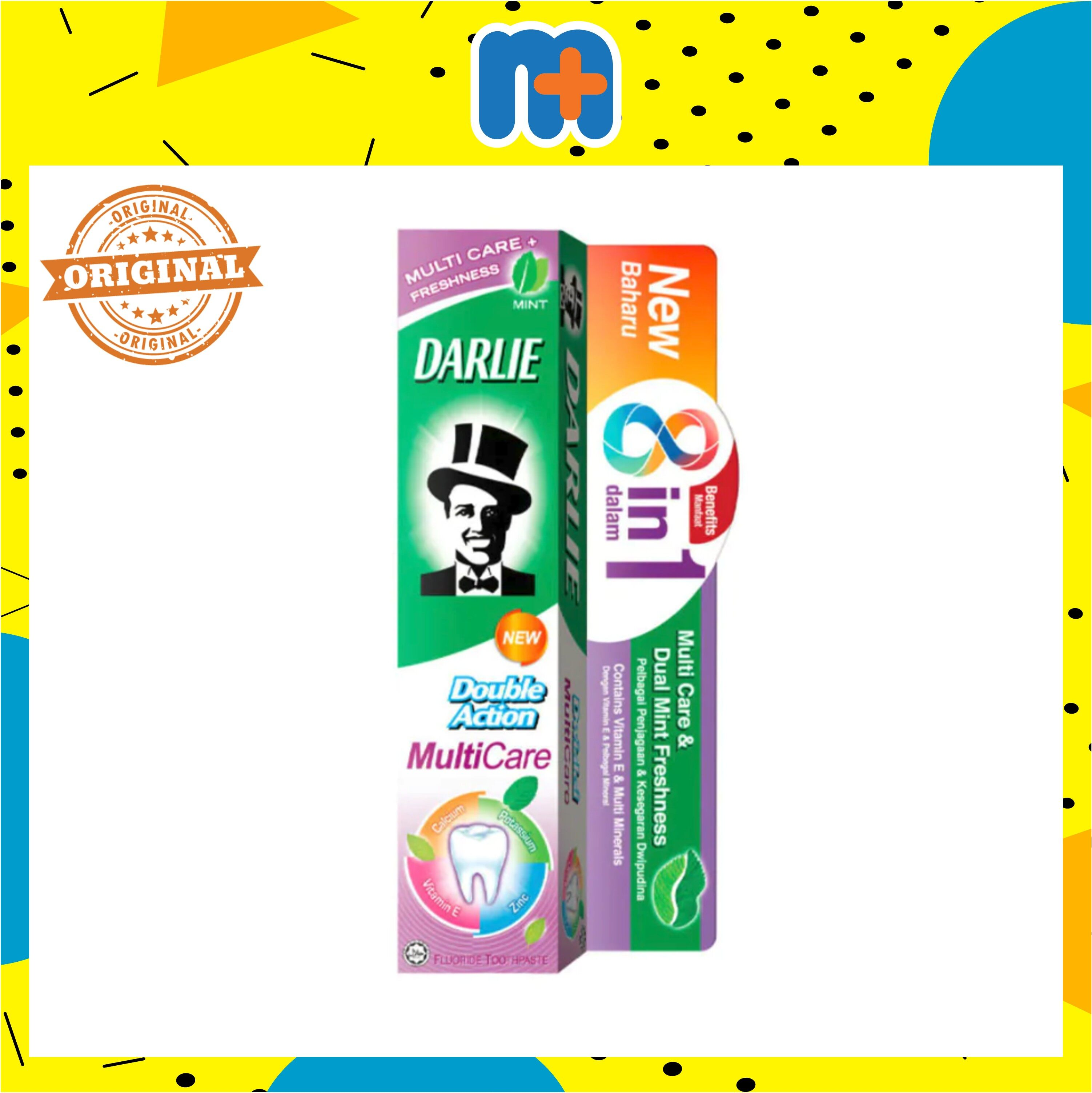 [MPLUS] DARLIE TOOTHPASTE DOUBLE ACTION MULTI CARE 180G
