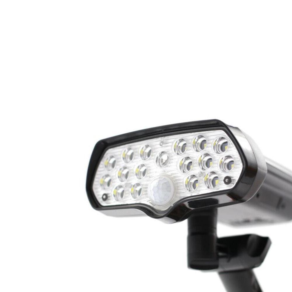 Outdoor Lighting - LED Solar Light PIR Motion Sensor Solar Lamp Household Waterproof Spotlights Wall Lamps for Outdoor - #