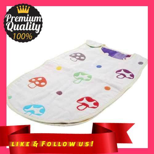 People\'s Choice 58*35cm Soft Thick Mushroom Pattern Baby Infant Sleeping Bag Swaddle Snap Fasteners (Multi)