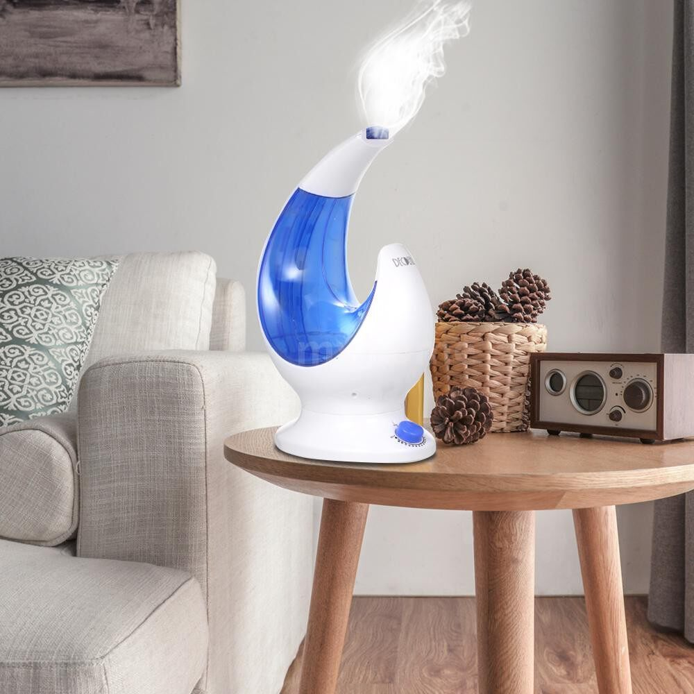 Humidifiers & Air Purifiers - DECDEAL ULTRAsonic Air Humidifier AroDiffuser Large Capacity Essential Oil Diffuser with - GREEN / BLUE / ROSE RED