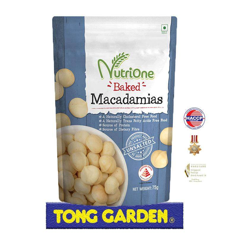 NutriOne Baked Macadamias 75G