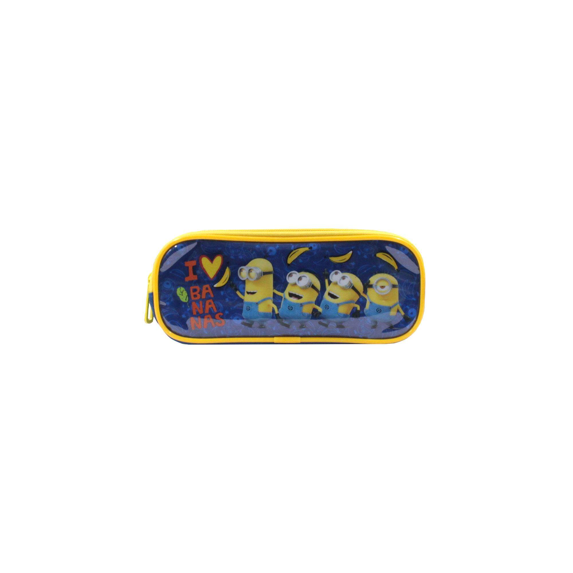 Despicable Me Minions Cartoon Character Children Double Zip Pencil Pouch
