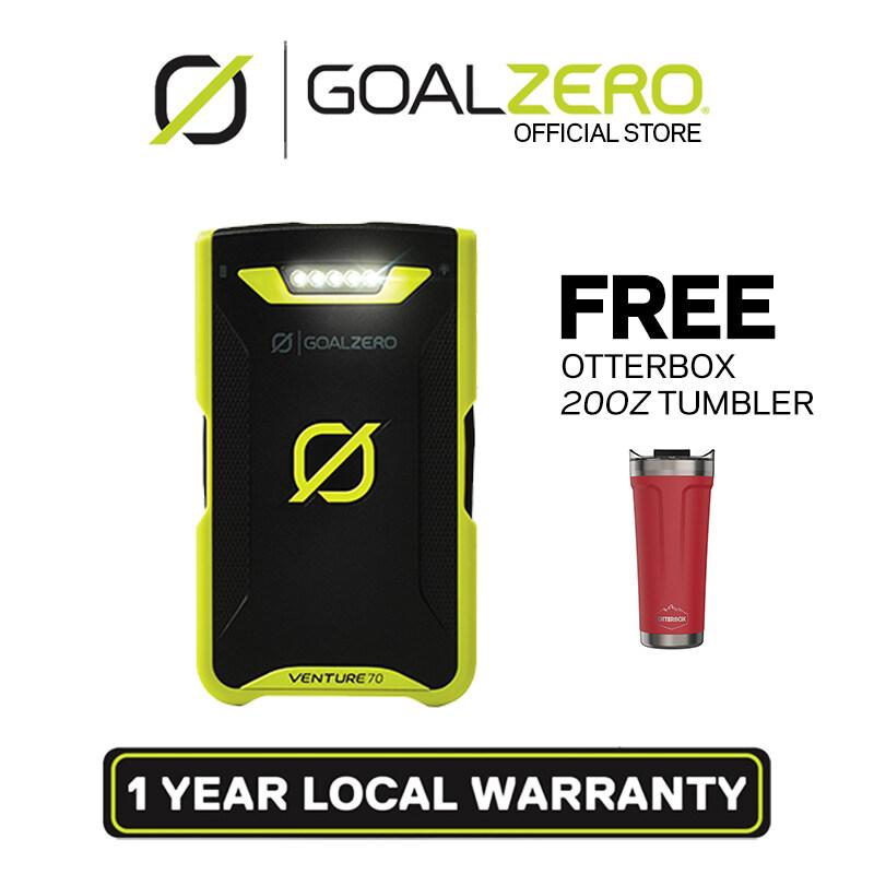 Goal Zero Venture 70 Solar Recharger 17700mAh Power Bank (Micro USB/Lightning)
