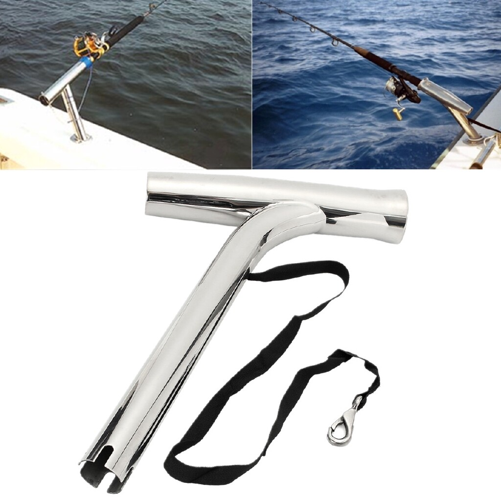 Moto Spare Parts - For Marine Yacht Rod Pod Fishing Rod Holder Rack Outrigger 316 Stainless Steel - Motorcycles, & Accessories