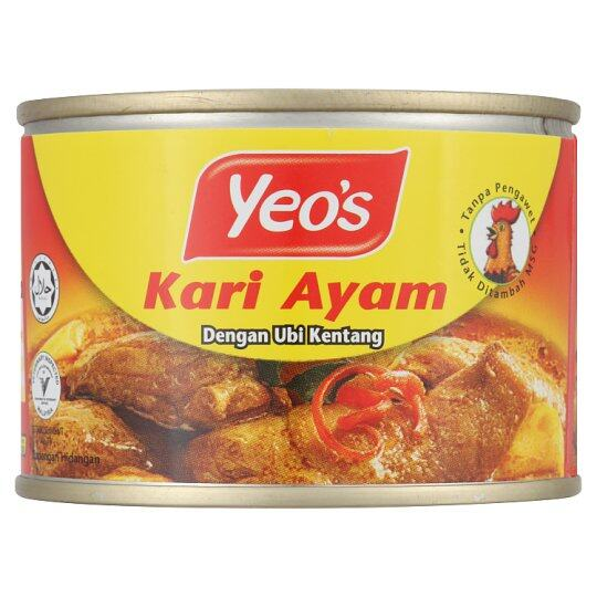 YEO'S CHICKEN CURRY WITH POTATO 145G