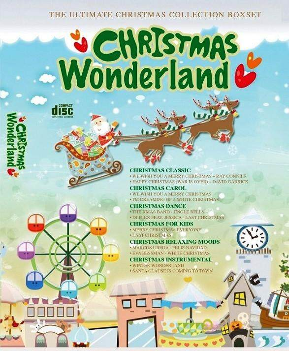 Christmas Wonderland 6CD Collection - Christmas Classic / Carol / Dance / For Kids / Relaxing Moods / Instrumental Music