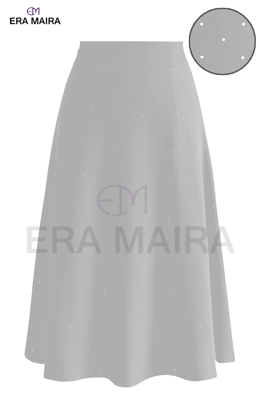 New Fashion Straight Formal Skirt Crystal Design Starletz - Formal Starlet
