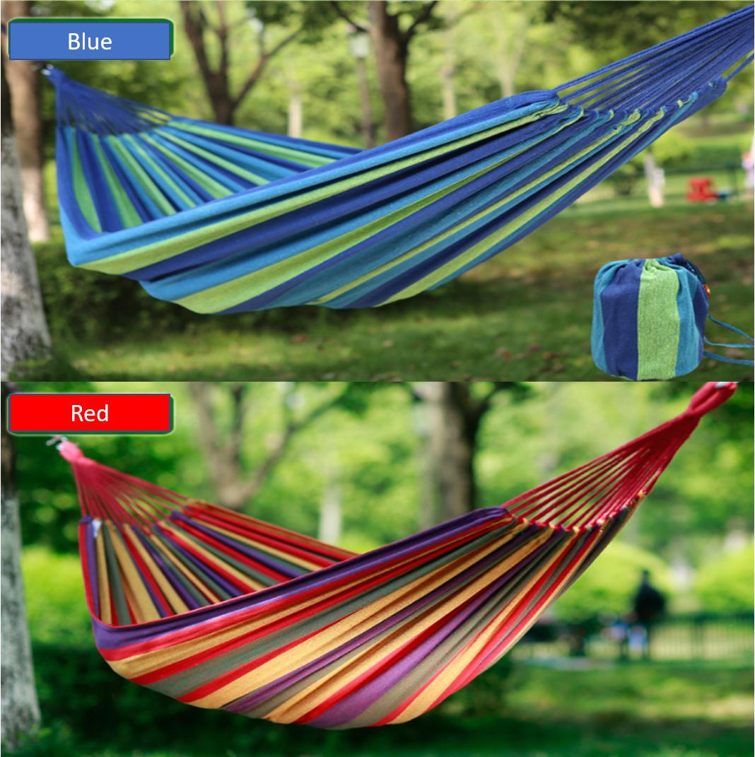 Portable Travel Hammock / Buaian / For Outdoor Activities