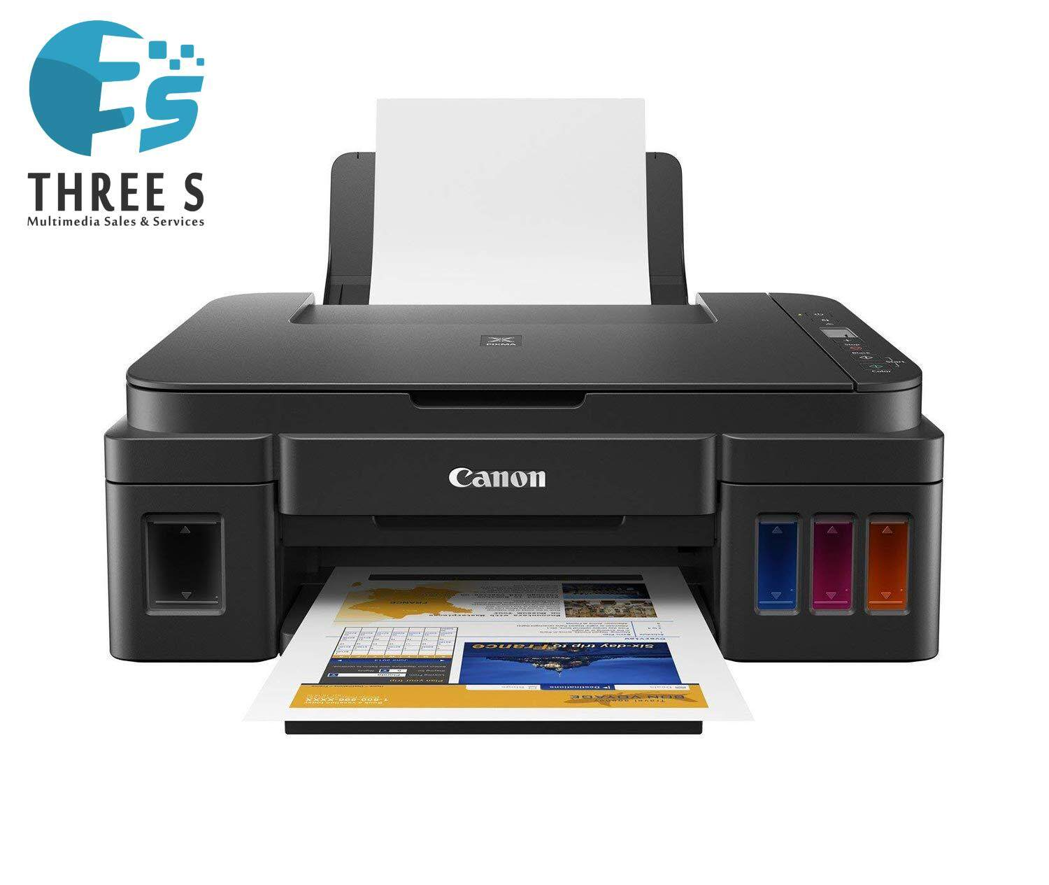 READY STOCK - CANON PIXMA G2010 REFILLABLE INK TANK ALL-IN-ONE INKJET PRINTER