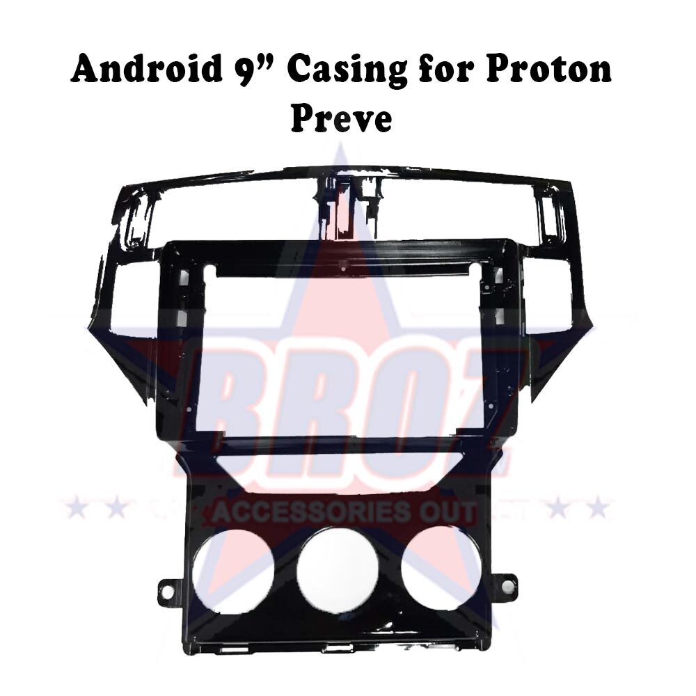 9 inches Car Android Player Casing for Preve
