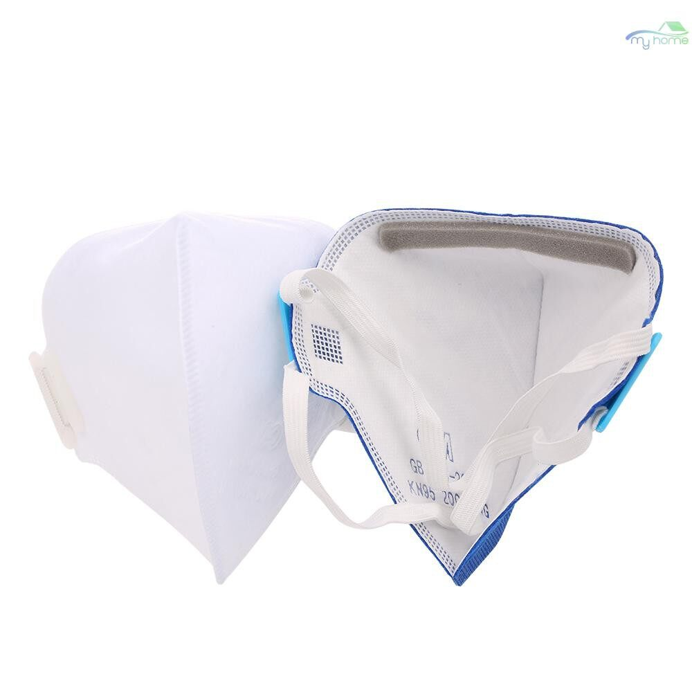 Protective Clothing & Equipment - CM 10 PIECE(s)/lot Dust Masks Disposable Anti-particles Anti-Dust Breathable Mask Protective Respirator - WHITE / BLUE