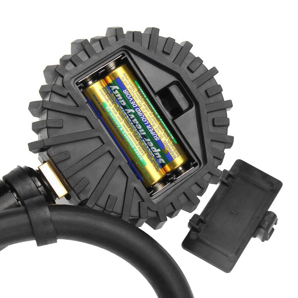 Gauges & Meters - 200PSI Digital Car Truck Air Tire Pressure Inflator Gauge LCD Dial Meter Tester - Car Accessories