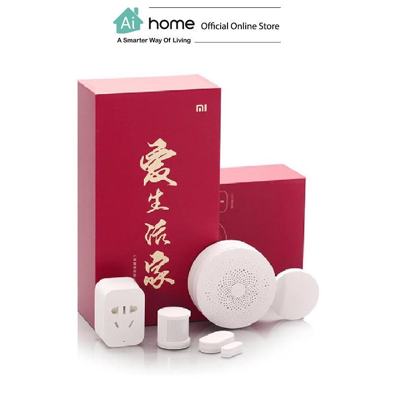 XIAOMI MIJIA Smart Home Sensor Set (Red Box) with 1 Year Malaysia Warranty [ Ai Home ] MIJIA Smart Home Sensor Set