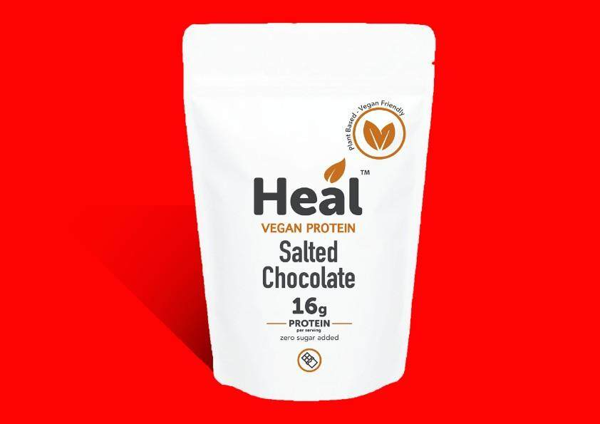 HEAL HIGH PROTEIN SALTED CHOCOLATE 570G