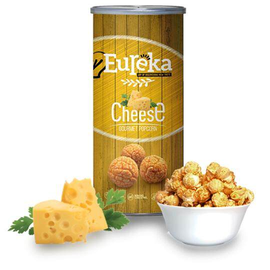 Eureka Cheese Popcorn Snack (Paper Can)
