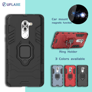 UFLAXE ốp lưng điện thoại áo giáp cứng chống sốc có đế nhẫn cho Huawei GR5 2017 thumbnail