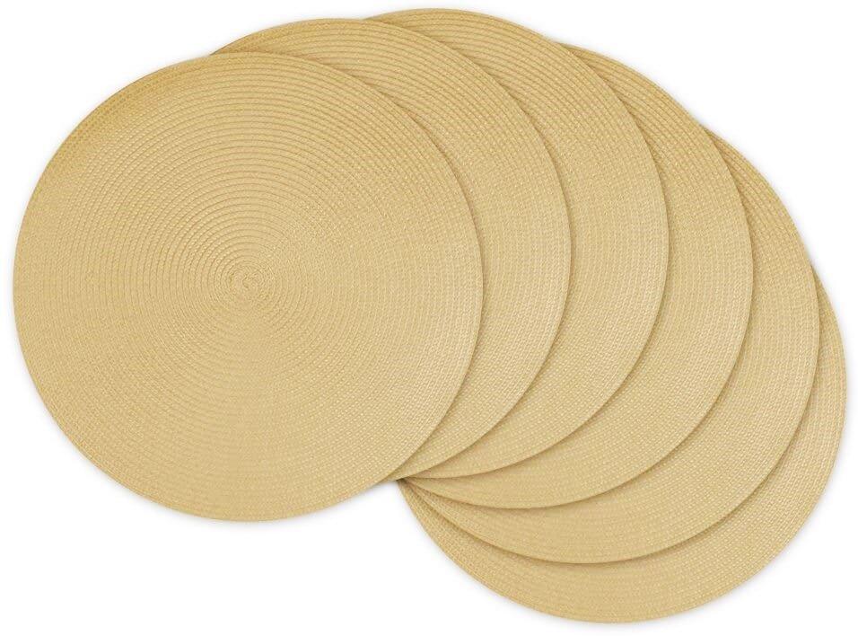 BEST SELLER 38cm Round Hot-Proof Insulation Placemat Pelapik Meja