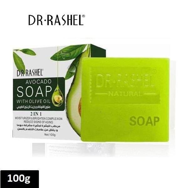 Dr. Rashel Avocado Soap with Olive Oil 2in1 100g