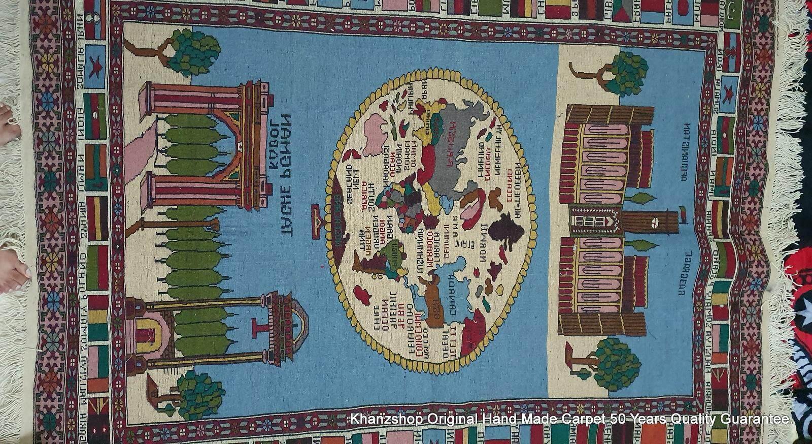 The Pakistan Original Hand Made Carpet (7.5ft x 5.5ft) With 50 Years Guarantee