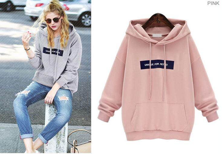 READY STOCK Harajuku Velvet Hoodie Sweatshirt Tops