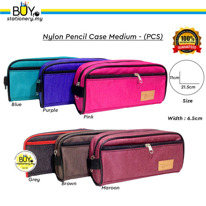 Nylon Pencil Case Medium - (PCS)