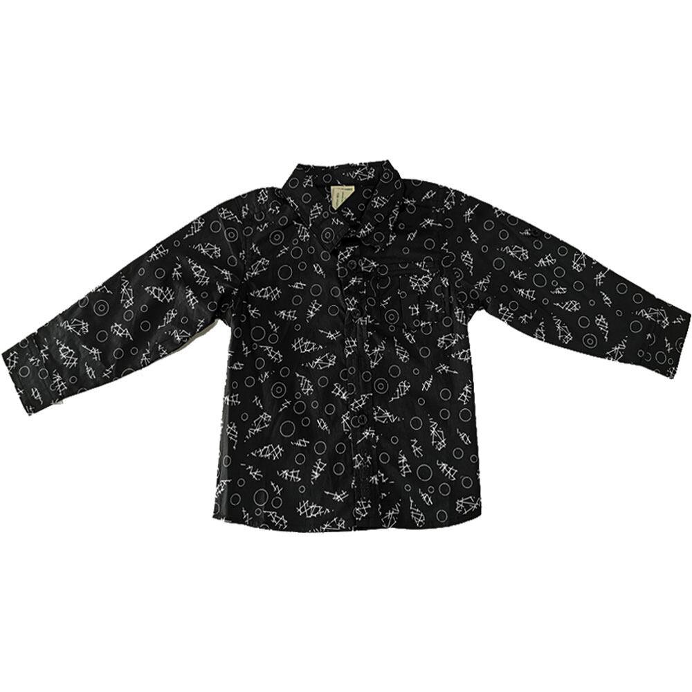 Hush Puppies-Baby Ahston Long Sleeve Shirt HEW834270
