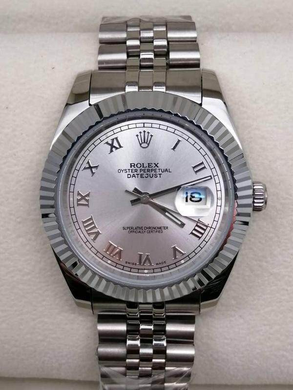 ROLEX_DATE JUST PERPECTUAL AUTOMATIC WATCH FOR MEN