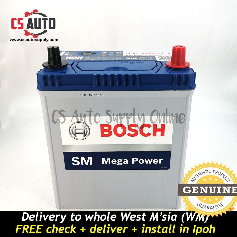 BOSCH NS40ZL Car Battery MF NS40 38B20L for Perodua Myvi, Viva, Alza and Honda City, Toyota Vios ready stock
