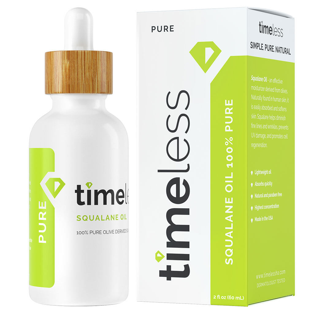 Timeless Squalane Oil 100% Pure 60 ml