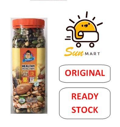 MR.NATURAL HEALTHY FRUITS & NUTS (360G)