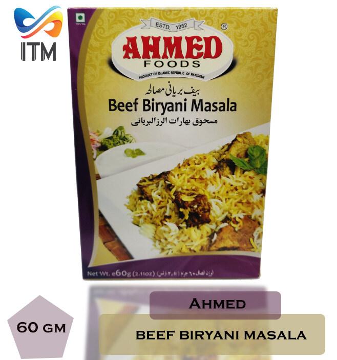 AHMED BEEF BIRYANI MASALA SINGLE PACK 60GM