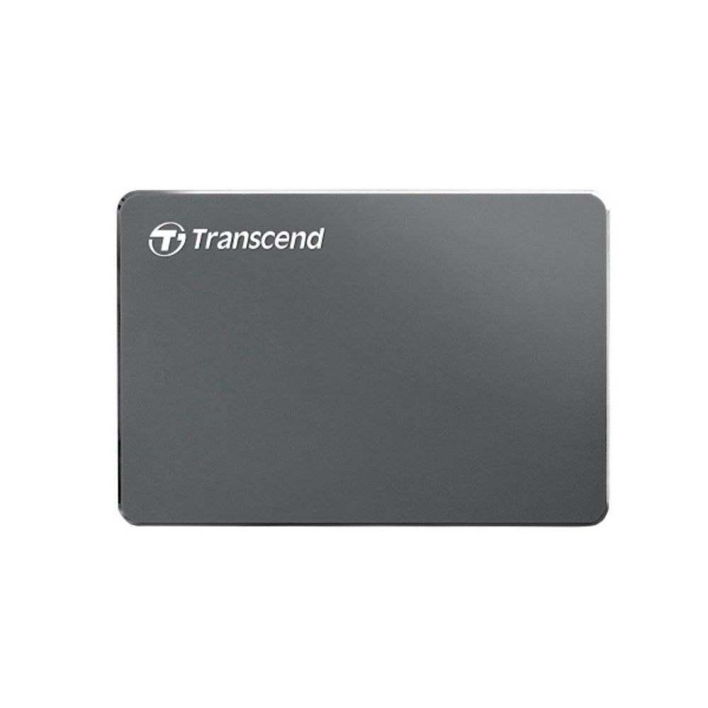 Transcend Portable Hard Drive StoreJet 25C3N with Slim Design, USB 3.1 Gen 1 Interface, Up To 5Gbps Trasnfer Speed, Manage data with Transcend Elite Software