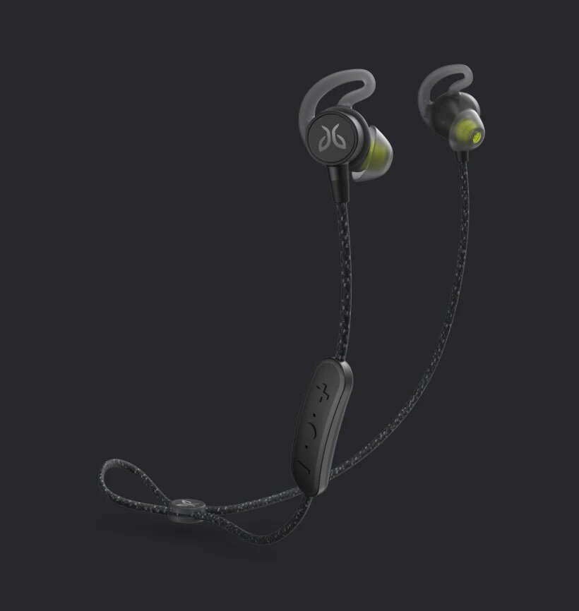 Jaybird Tarah Pro Wireless Sport Headphones, 14-Hour Battery Life, IPX7 Waterproof & Sweatproof, Switch Fit, Premium Sound with Custom EQ, Music and Calls, Magnetic Snap Lock, Fabric Sport Cord