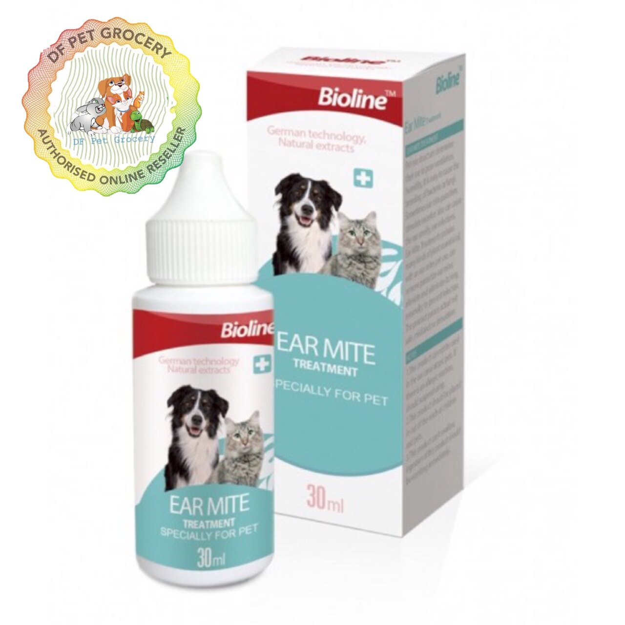 Bioline Ear Mite Treatment 30ml For Cat & Dog Nr.2190