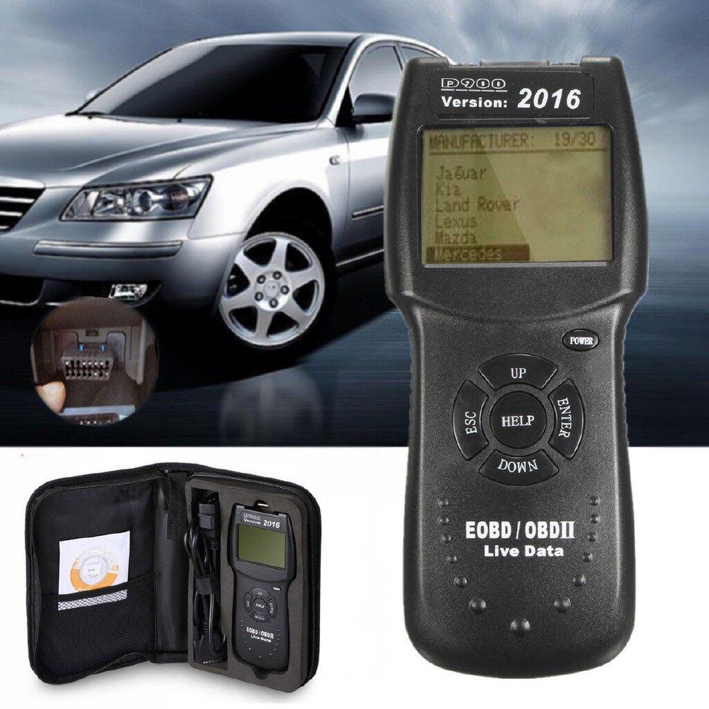 Automotive Tools & Equipment - 2016 D900 Universal OBD2 EOBD Car Fault Code Reader Scanner Diagnostic - Car Replacement Parts