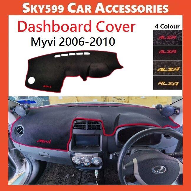 Perodua Myvi 2006-2010 Dashboard Cover Anti Slip Thick Dashboard Mat High Quality