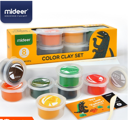 Mideer X  - Color Clay Set Ready Stock