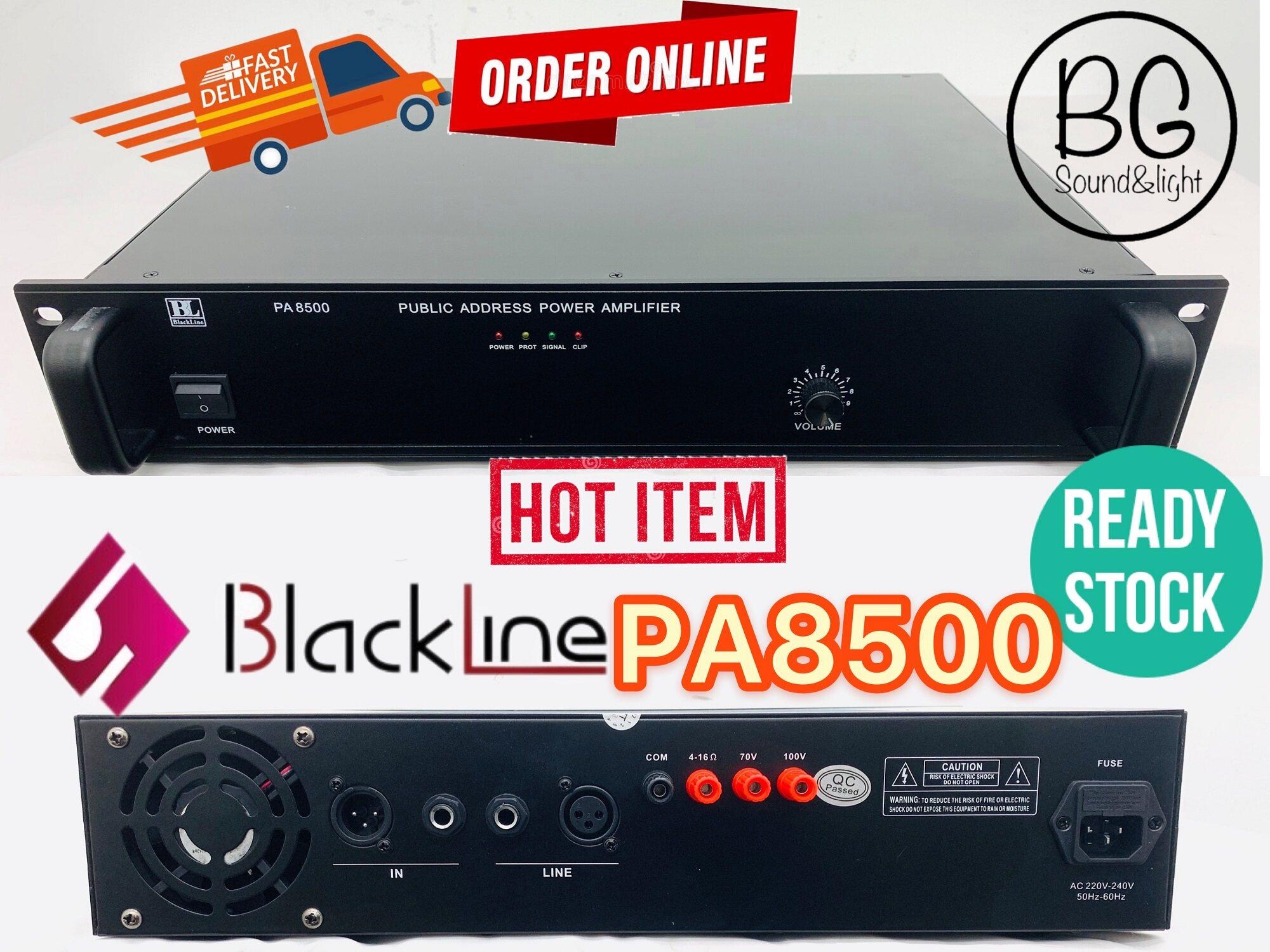 [Ready Stock]Blackline PA8500 500W Public Address PA System Power Amplifier