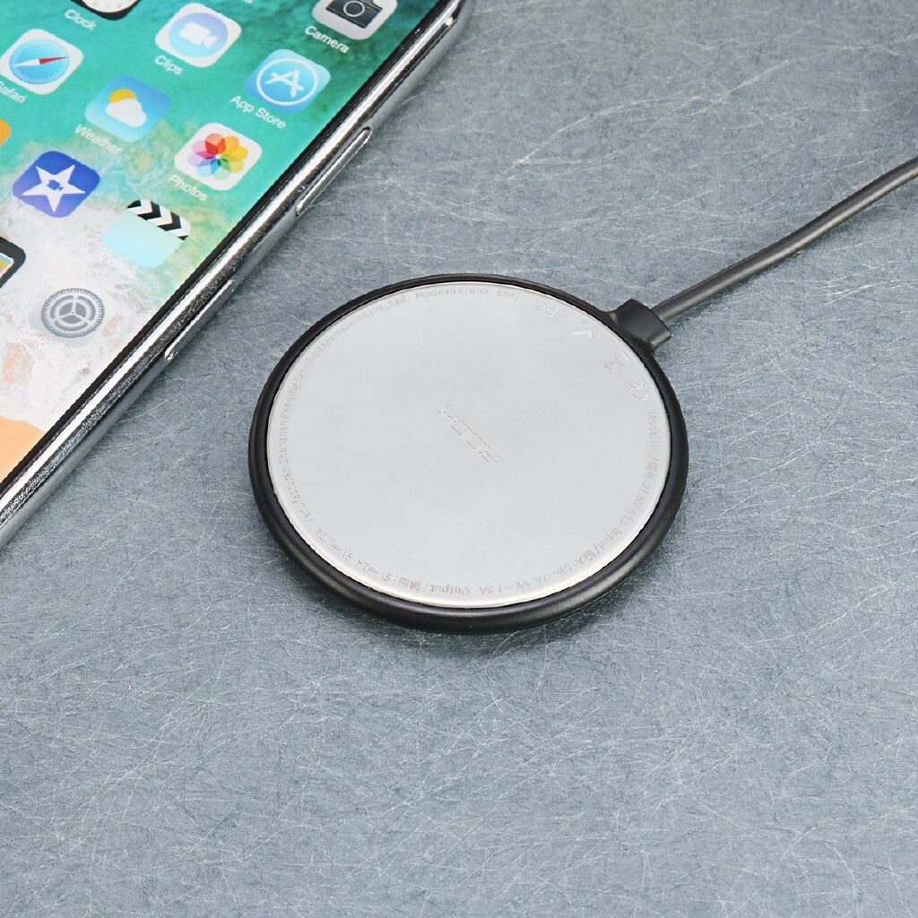 Chargers - 10W QI ULTRA Fast Charger Thin WIRELESS Charging Suction Holder Pad Mat USB - Cables