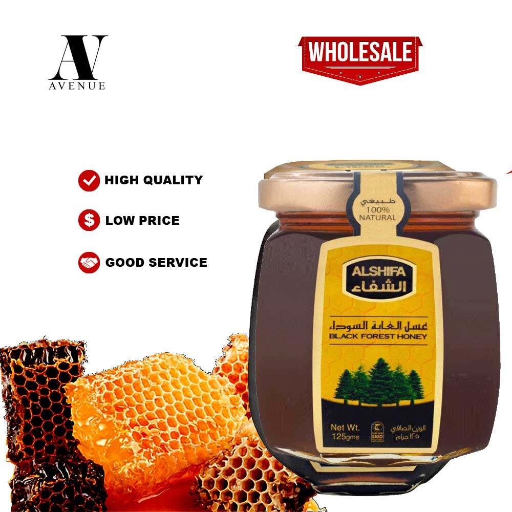 ALSHIFA BLACK FOREST NATURAL HONEY 125 g Original 100% Madu Asli