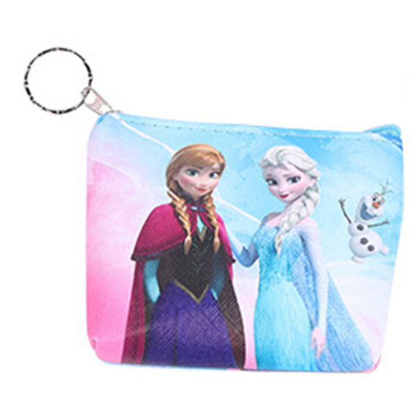 Giá bán Princess Elza Elsa Anna Children Elsa Cartoon Make Up Bag Packet Storage Coin Purse Kid Pendant Wallet Card Bag