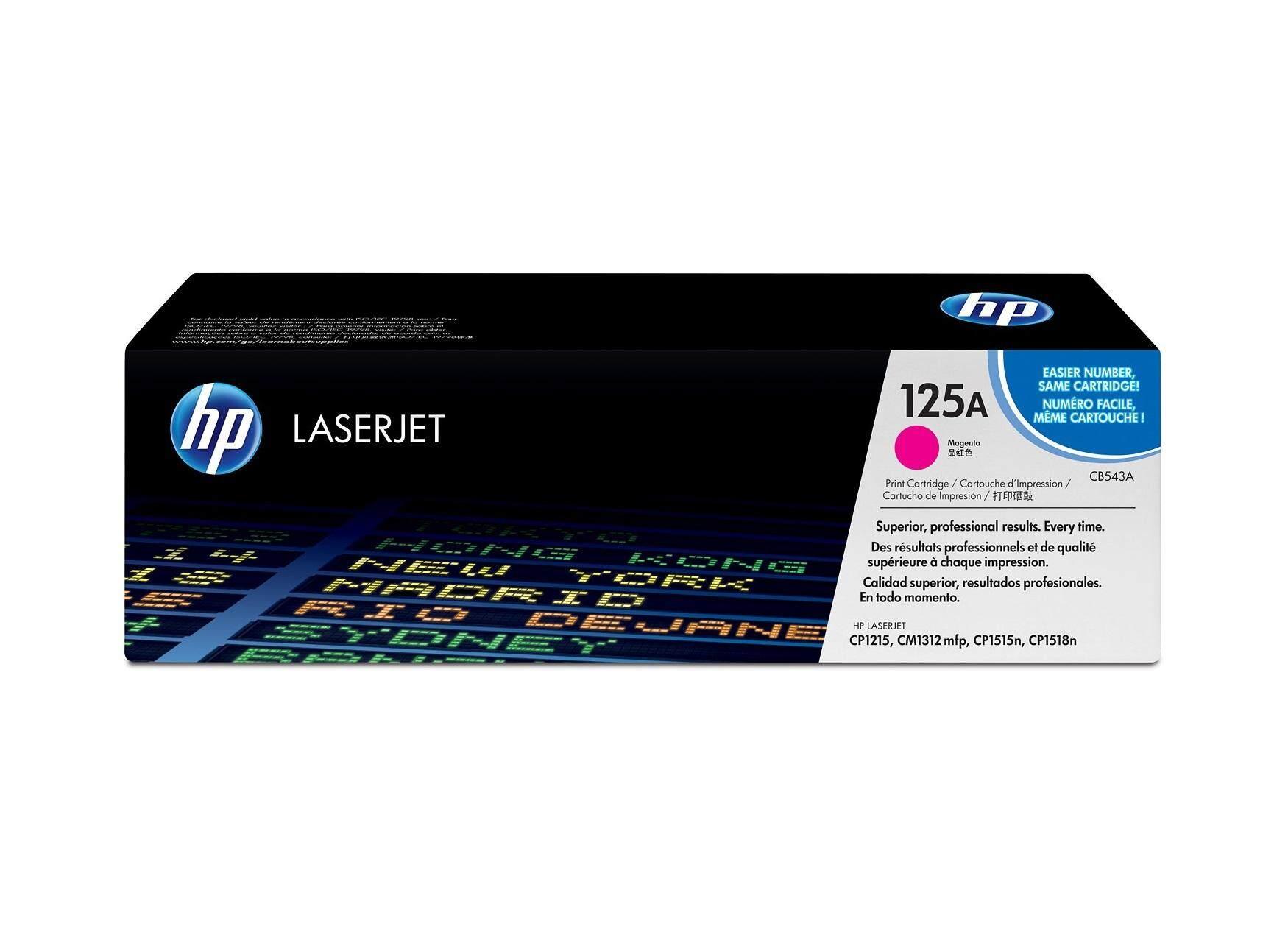 HP Color Toner Cartridge HP CB543A Magenta