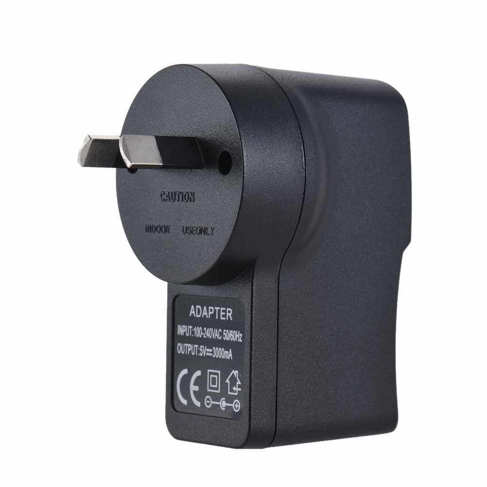 Andoer NP-FW50 Dummy Battery + 5V 3A USB Power Adapter Cable with Power Plug Replacement for AC-PW20 (Black)