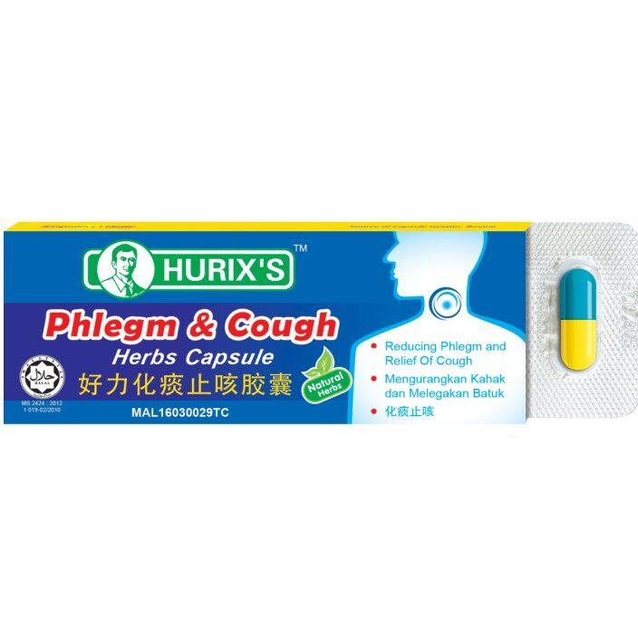 HURIX'S PHLEGM & COUGH CAPSULE (6'S)