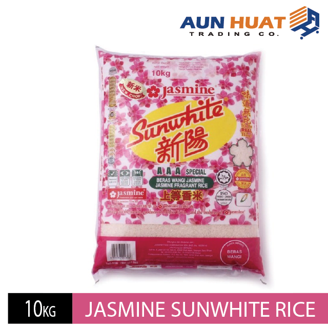 Jasmine Sunwhite Fragrant Rice 10kg