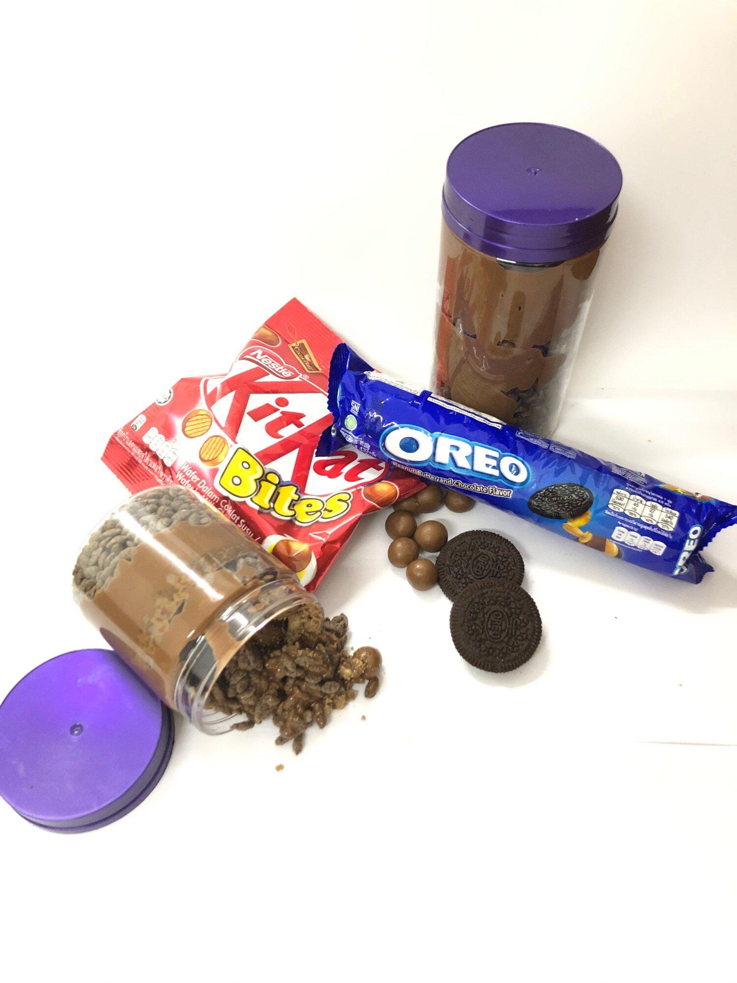 Cadbury Oreo Kit Kat Nutella Milo Coco Mix Nut Cadbury Choco Jar Marshmallow Cadbury Choco Jar