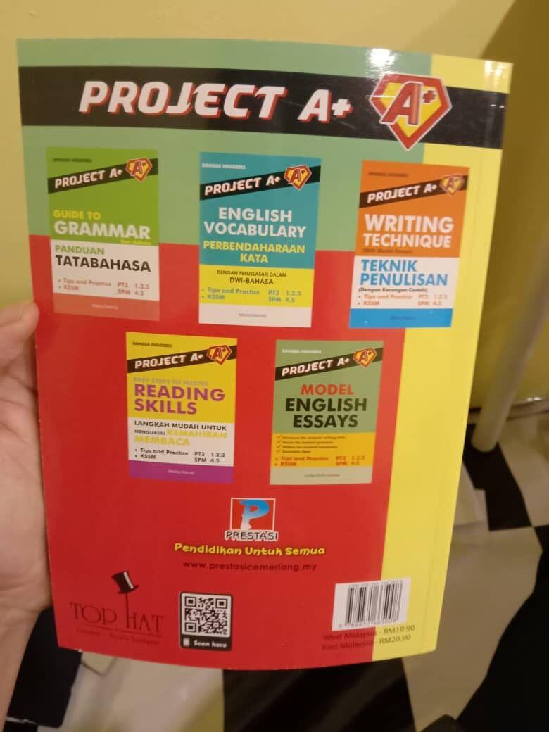 Project A+: So You Think You Can Speak? (Peraturan Mudah Untuk Bercakap Lebih Baik) Enhance Speaking Skills Dual Langugage PMR PT3 & SPM NEW 2020 (Ready Stock)