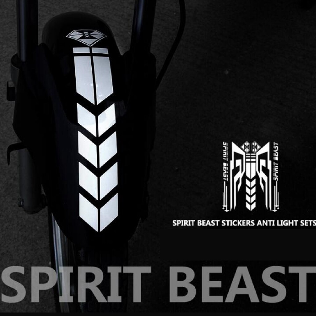 Car Stickers - Reflective Motorcycle Bike Scooter Body PVC Sticker Fuel Tank Decal Protector - TYPE15 / TYPE1 / TYPE14 / TYPE4 / TYPE10 / TYPE3 / TYPE12 / TYPE8 / TYPE7 / TYPE16 / TYPE9 / TYPE2 / TYPE5 / TYPE6 / TYPE11 / TYPE13