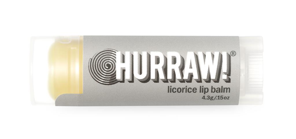 HURRAW LICORICE LIP BALM 4.8G