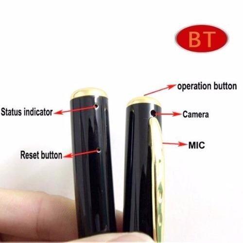 8GB Spy Pen Camera HD 1280X960 Video Audio Recorder (Gold)